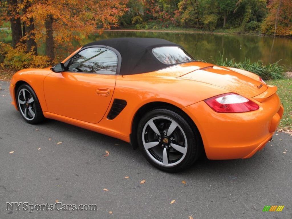 2008 Porsche Boxster Limited Edition In Orange Photo 4