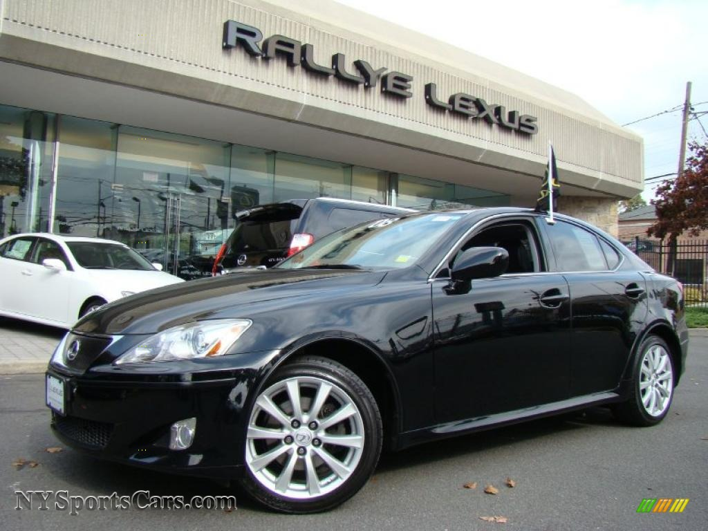 2008 lexus is 250 awd in obsidian black 017063 cars for sale in new york. Black Bedroom Furniture Sets. Home Design Ideas