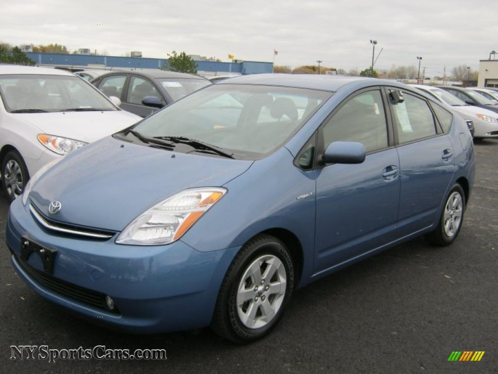 2008 toyota prius hybrid in seaside blue pearl 780822. Black Bedroom Furniture Sets. Home Design Ideas