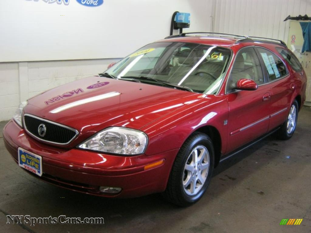 2001 Mercury Sable LS Premium Wagon in Toreador Red ...