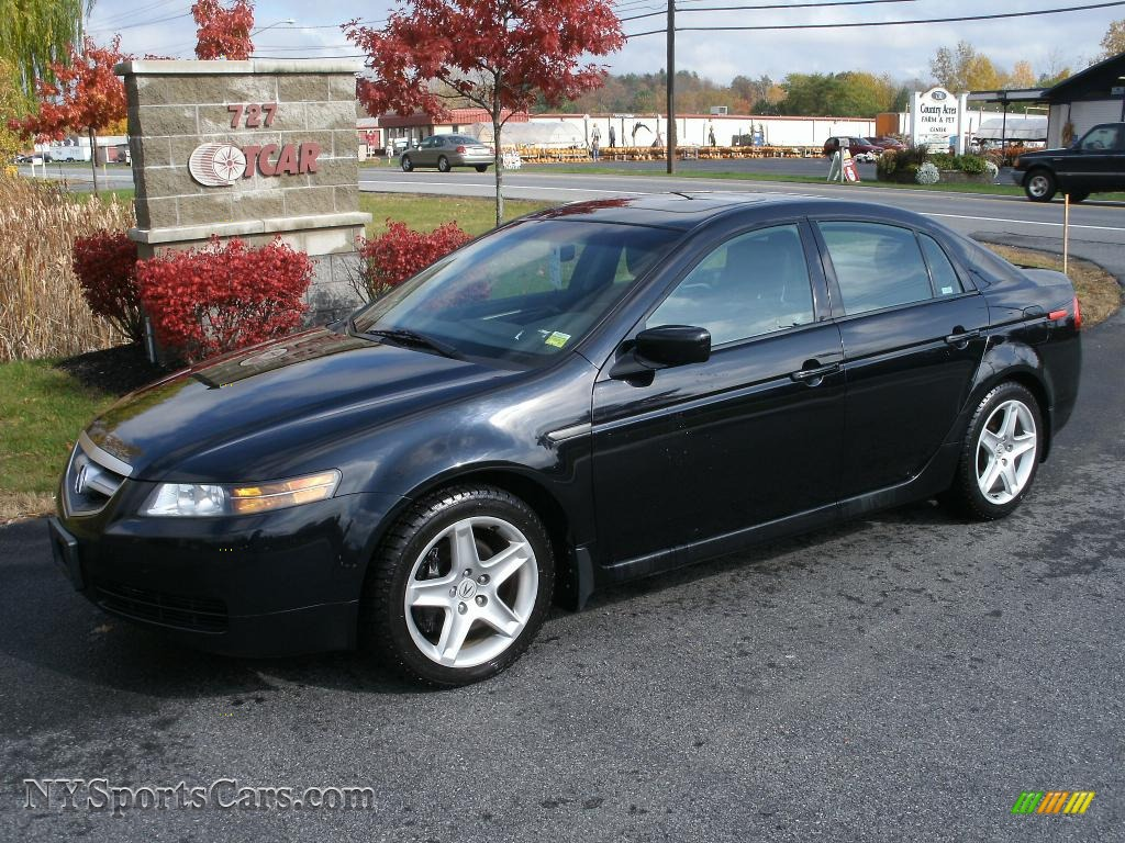 2004 acura tl 3 2 in nighthawk black pearl 026686 cars for sale in new york. Black Bedroom Furniture Sets. Home Design Ideas