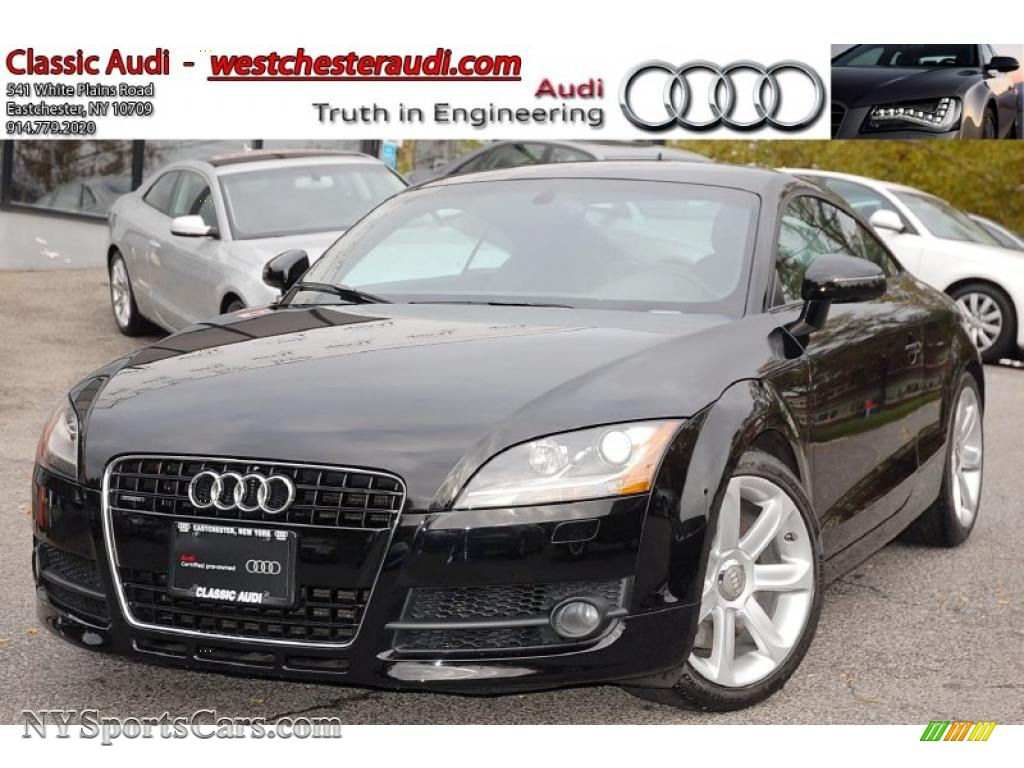 2008 audi tt 3 2 quattro coupe in brilliant black 003173 cars for sale in. Black Bedroom Furniture Sets. Home Design Ideas