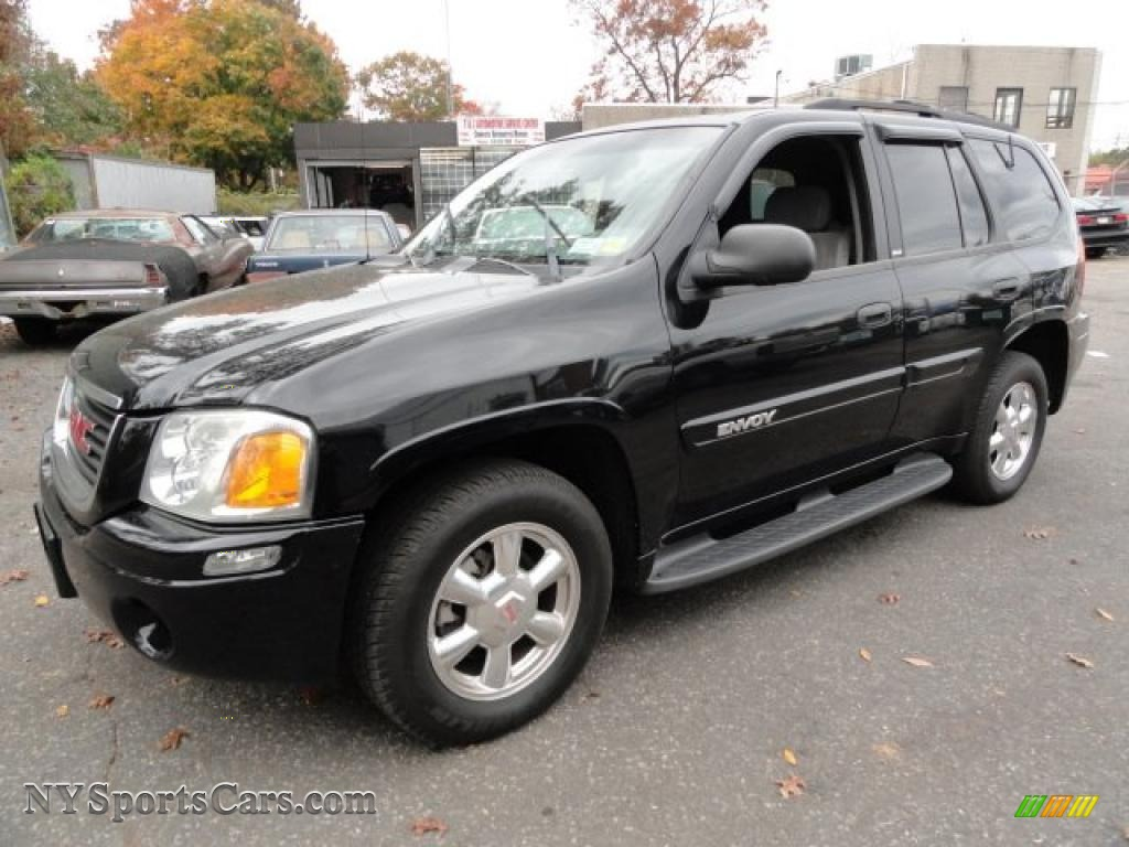 2003 gmc envoy sle 4x4 in onyx black 217163. Black Bedroom Furniture Sets. Home Design Ideas
