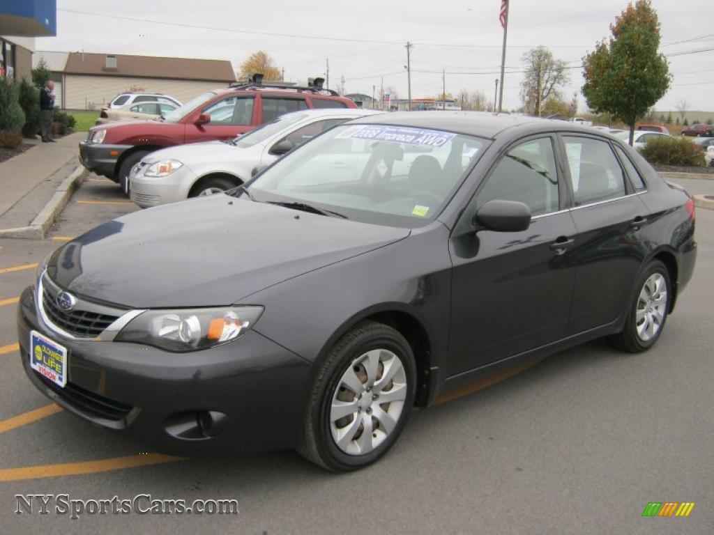 2008 Subaru Impreza 2.5i Sedan in Dark Gray Metallic - 513579 ...