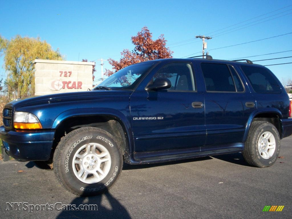 2001 Dodge Durango Slt 4x4 In Patriot Blue Pearl 594497 Nysportscars Com Cars For Sale In New York