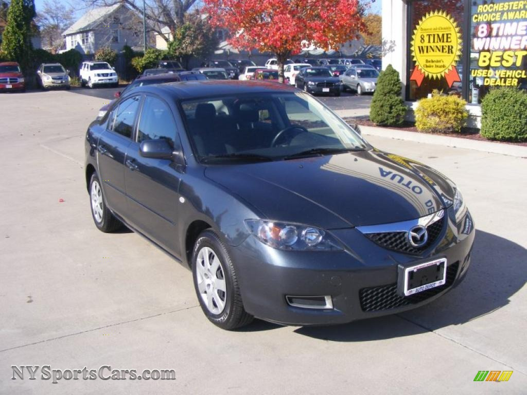 2009 mazda mazda3 i sport sedan in metropolitan gray mica. Black Bedroom Furniture Sets. Home Design Ideas