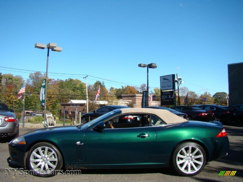 2007 Jaguar Xk Xk8 Convertible In Jaguar Racing Green