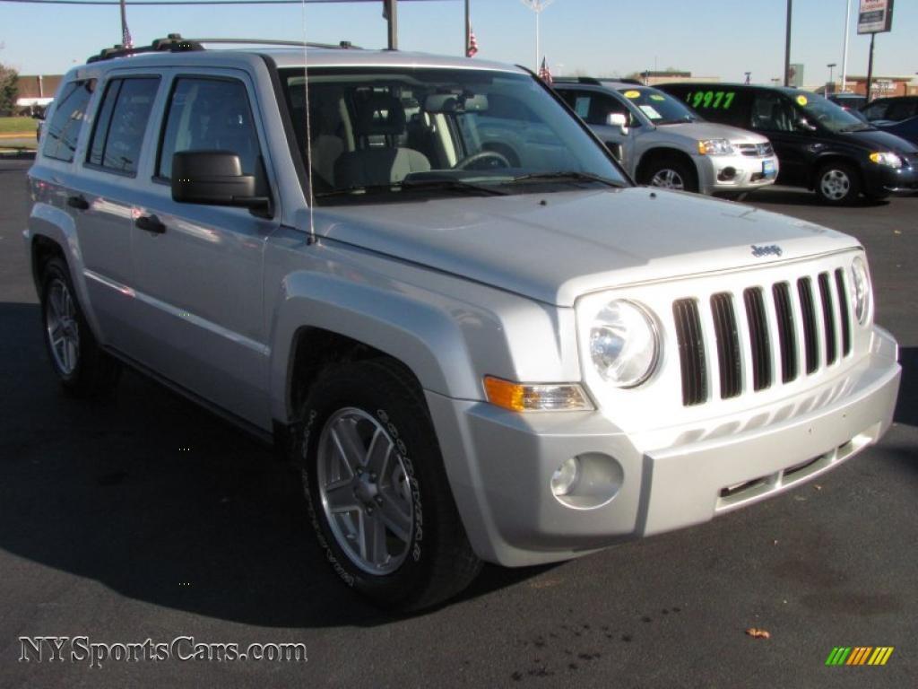 2007 jeep patriot sport 4x4 in bright silver metallic - 370376