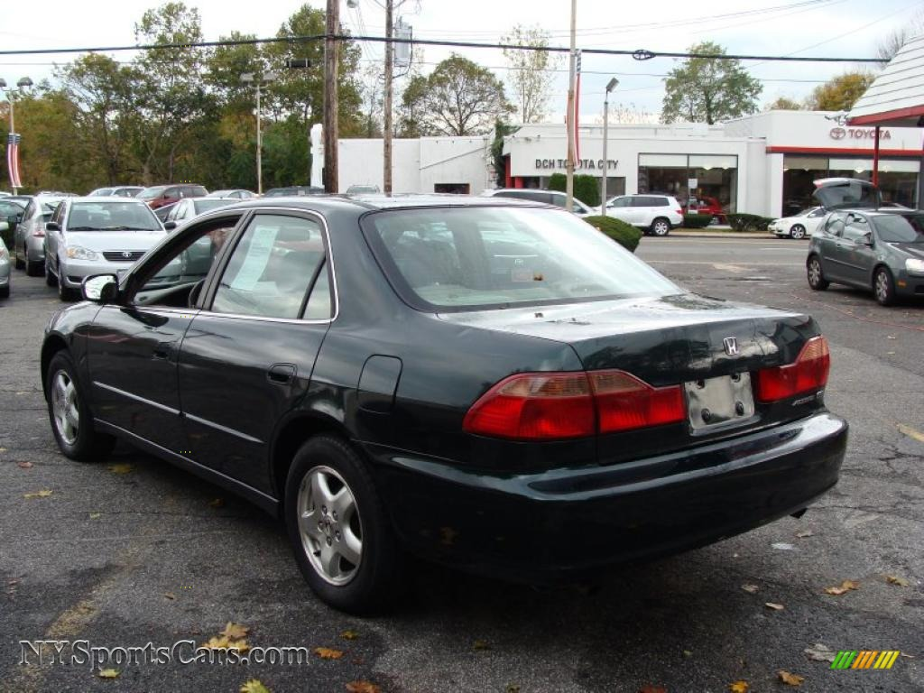 1999 honda accord ex v6 sedan in dark emerald pearl photo. Black Bedroom Furniture Sets. Home Design Ideas
