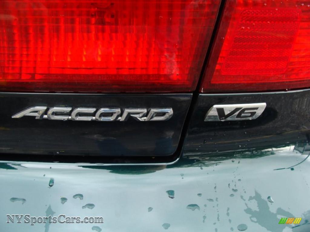 1999 Honda Accord Ex V6 Sedan In Dark Emerald Pearl Photo