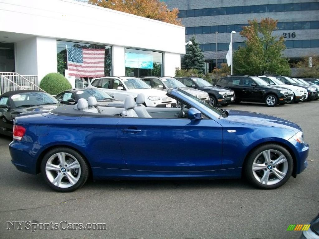 2010 1 series 128i convertible montego blue metallic taupe photo 4