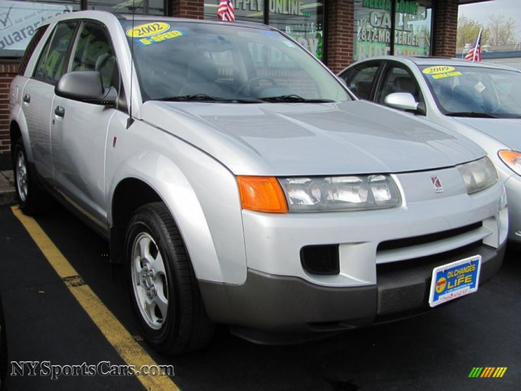2002 saturn vue in silver 811476 nysportscars cars for silver gray saturn vue vanachro Images