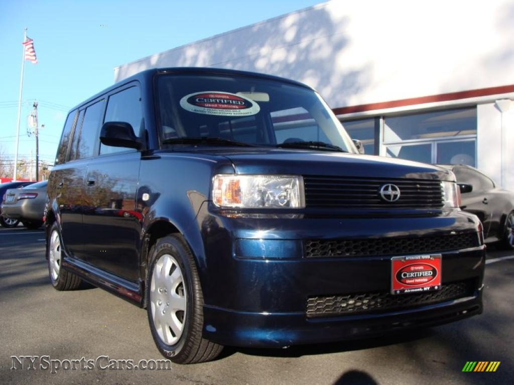 2006 scion xb in blue onyx pearl 040935 cars for sale in new york. Black Bedroom Furniture Sets. Home Design Ideas