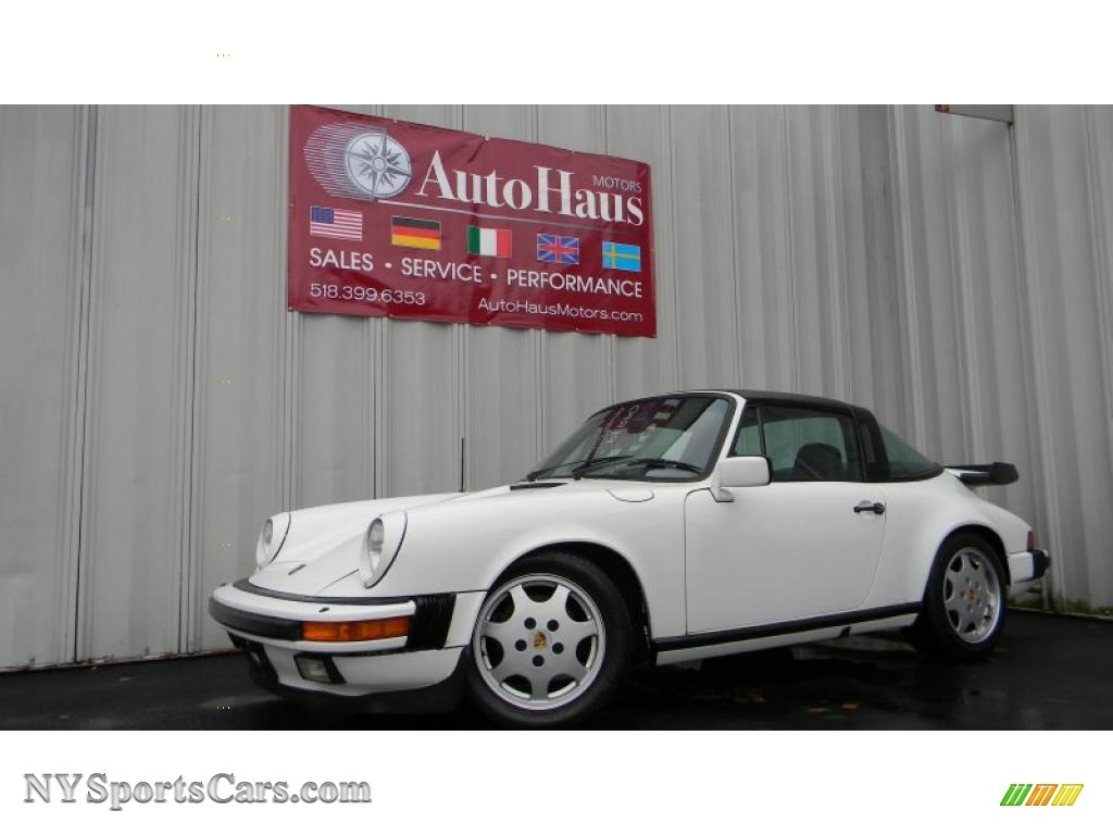 1984 porsche 911 carrera targa in grand prix white. Black Bedroom Furniture Sets. Home Design Ideas