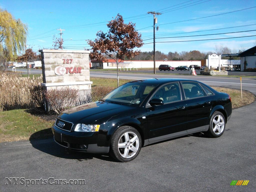 2003 audi a4 1 8t quattro sedan in brilliant black. Black Bedroom Furniture Sets. Home Design Ideas