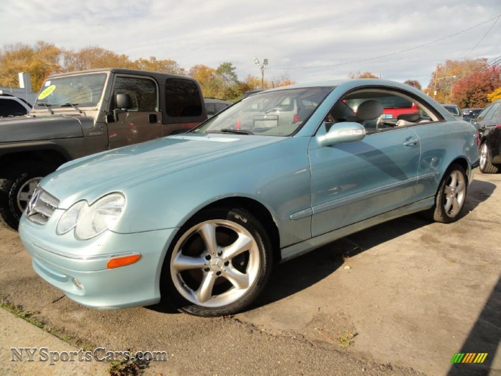 2004 Mercedes Benz Clk 320 Coupe In Ice Blue Metallic