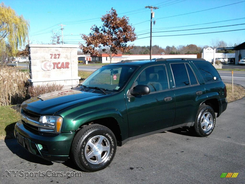 2004 Chevrolet TrailBlazer LS 4x4 in Dark Green Metallic ...