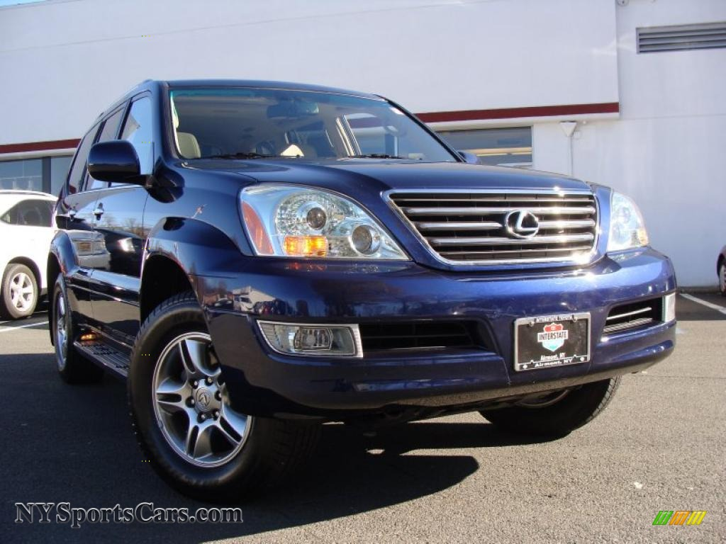 2008 lexus gx 470 in nautical blue metallic 150281 cars for sale in new york. Black Bedroom Furniture Sets. Home Design Ideas