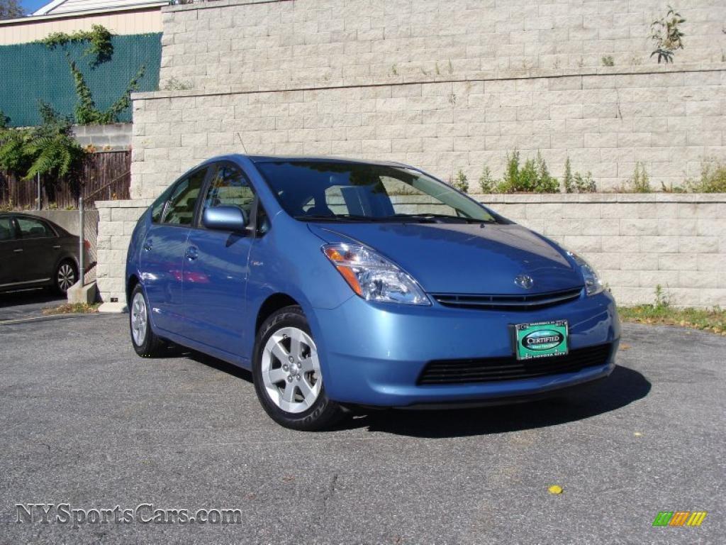 2008 Toyota Prius Hybrid In Seaside Blue Pearl 766313