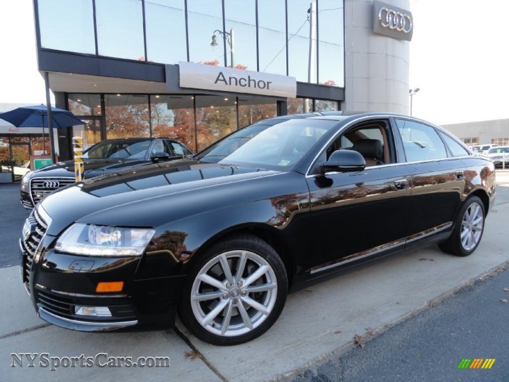 2009 audi a6 3 0t quattro sedan in brilliant black 054969 cars for sale. Black Bedroom Furniture Sets. Home Design Ideas