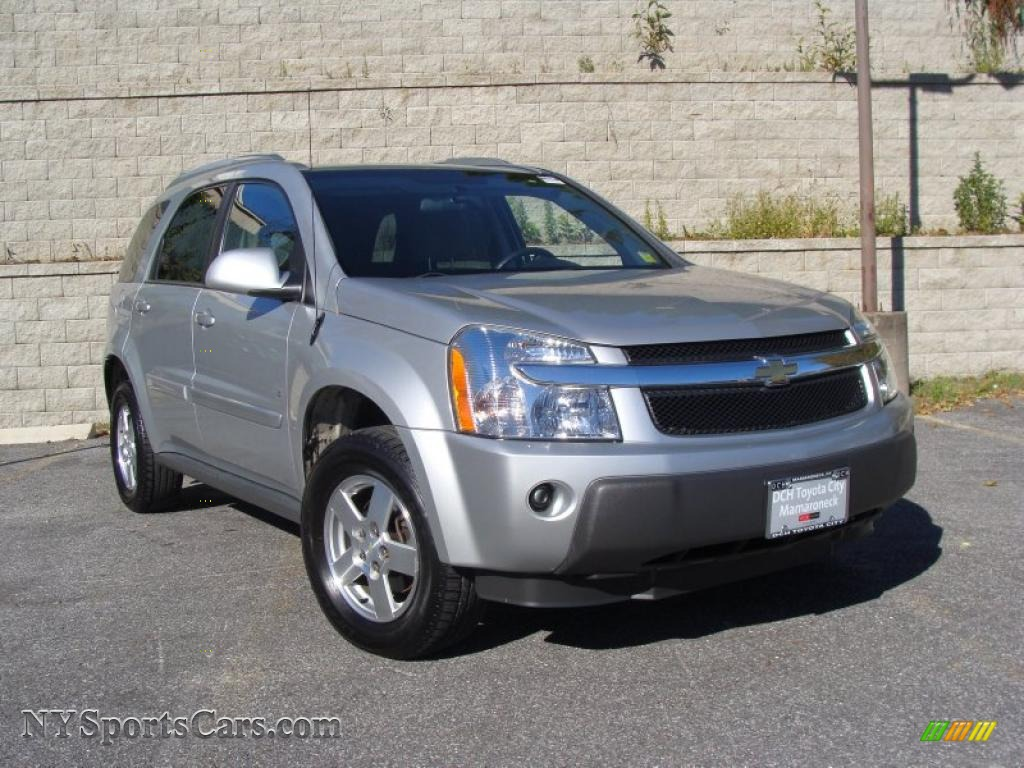2006 chevrolet equinox lt awd in galaxy silver metallic. Black Bedroom Furniture Sets. Home Design Ideas