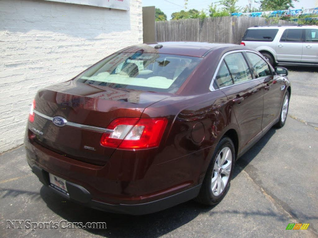 2010 ford taurus sel in cinnamon red metallic photo 4 138431 cars for. Black Bedroom Furniture Sets. Home Design Ideas