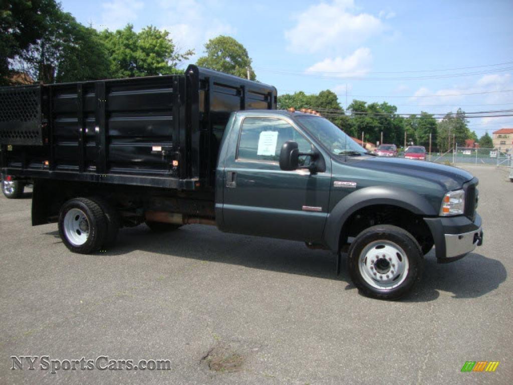 2007 Ford F550 Super Duty Xl Regular Cab Dump Truck In