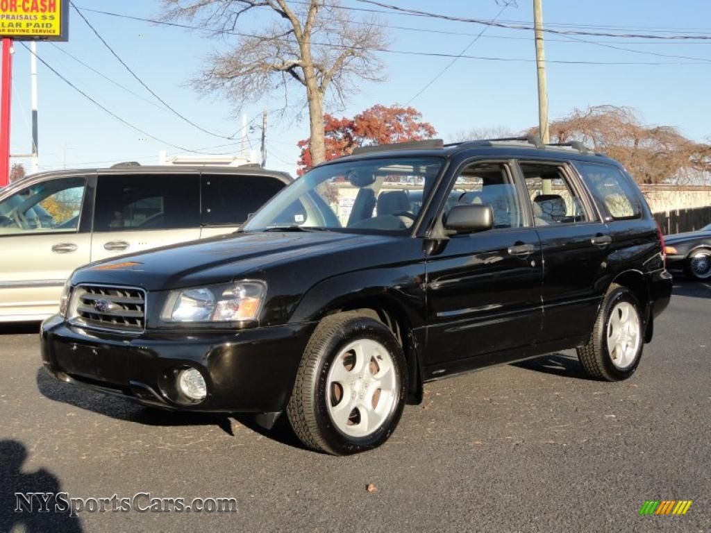 2003 Subaru Forester 2 5 Xs In Java Black Pearl 766826