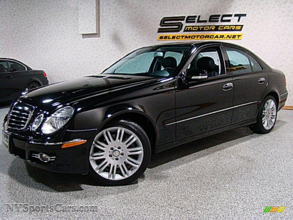2008 mercedes benz e 350 4matic sedan in black photo 7 for Mercedes benz e 350 for sale