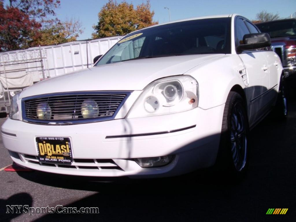 2005 ford five hundred limited awd in oxford white. Black Bedroom Furniture Sets. Home Design Ideas