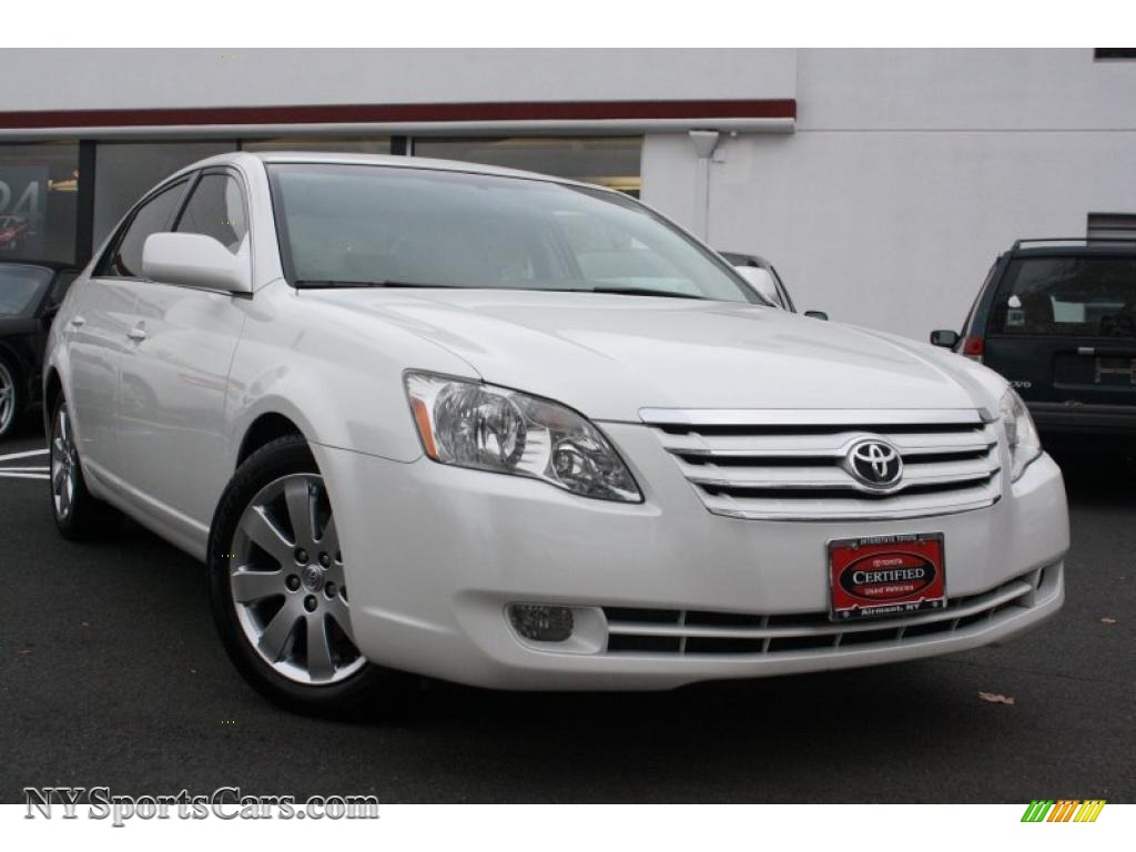 2005 toyota avalon xls in blizzard white pearl 059404. Black Bedroom Furniture Sets. Home Design Ideas