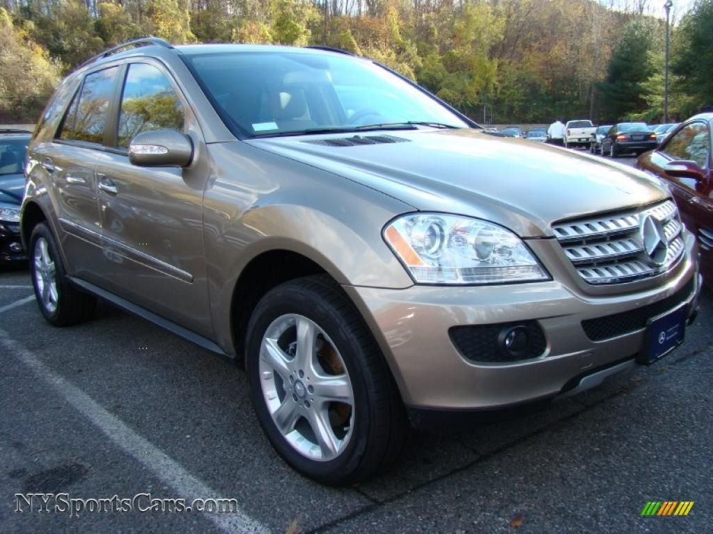 2008 mercedes benz ml 350 4matic in sand beige metallic for Mercedes benz ml 350 2008