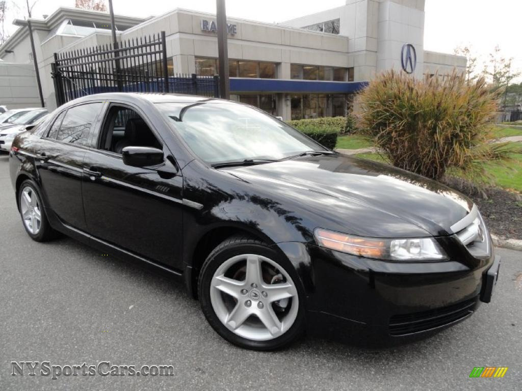Acura TL In Nighthawk Black Pearl NYSportsCars - Acura tl 2006 for sale