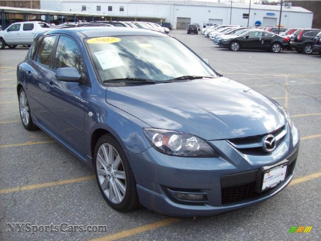 2007 mazda mazda3 mazdaspeed3 grand touring in cosmic blue mica 619088. Black Bedroom Furniture Sets. Home Design Ideas