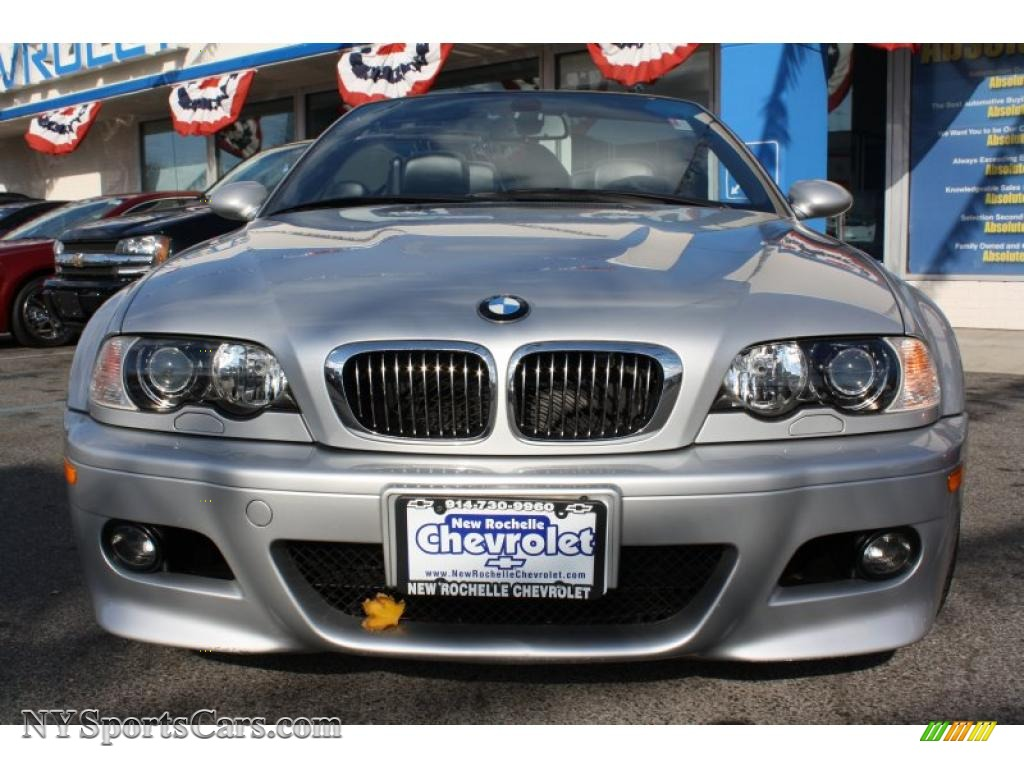 2005 BMW M3 Convertible in Titanium Silver Metallic photo ...