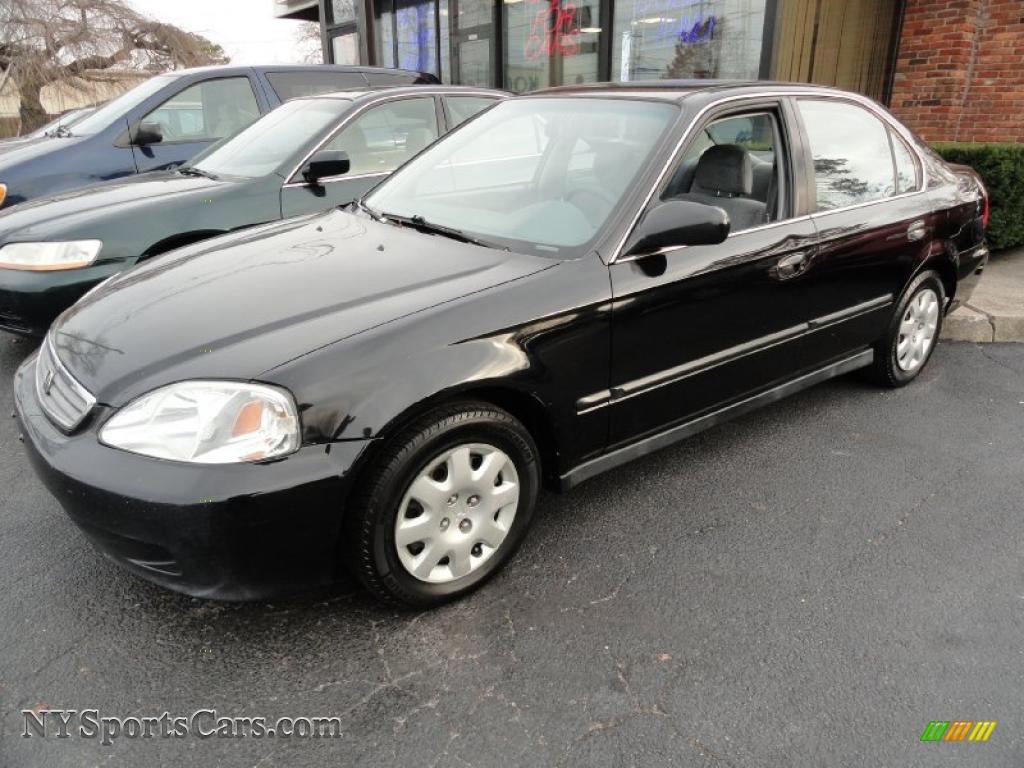 2000 Honda Civic LX Sedan in Flamenco Black Pearl - 512528 | NYSportsCars.com - Cars for sale in ...