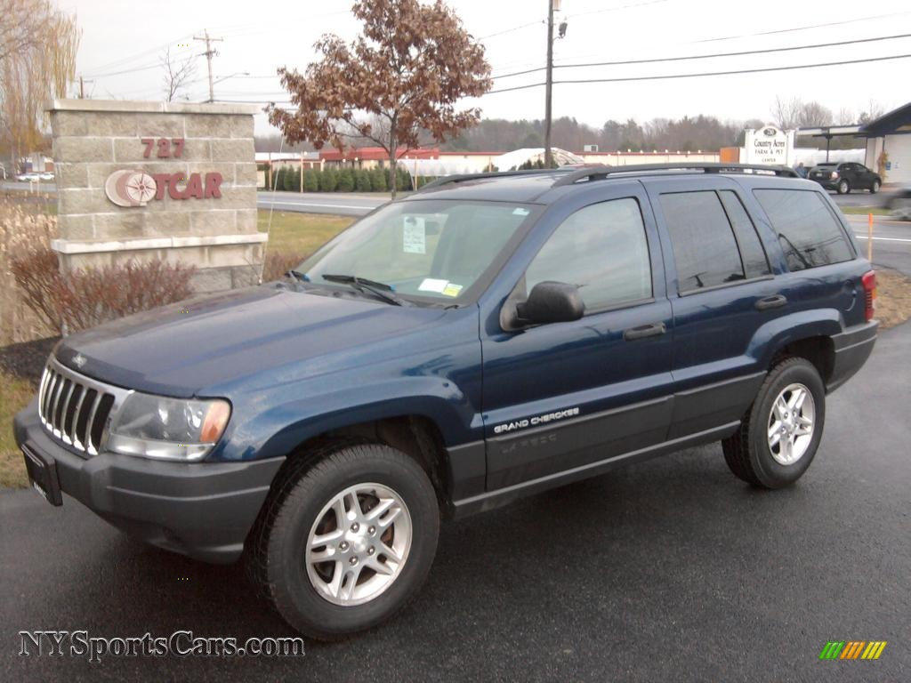 2003 jeep grand cherokee laredo 4x4 in patriot blue pearl 593961 nysportscars com cars for