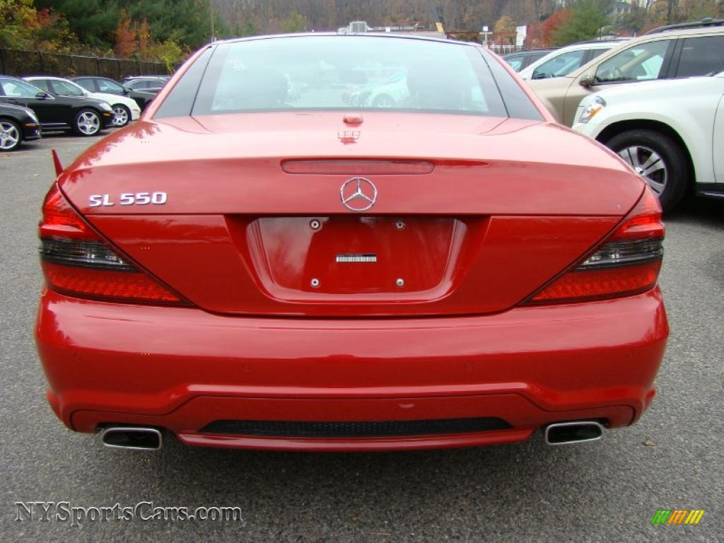 2009 mercedes benz sl 550 roadster in mars red photo 4 for 2009 mercedes benz roadster