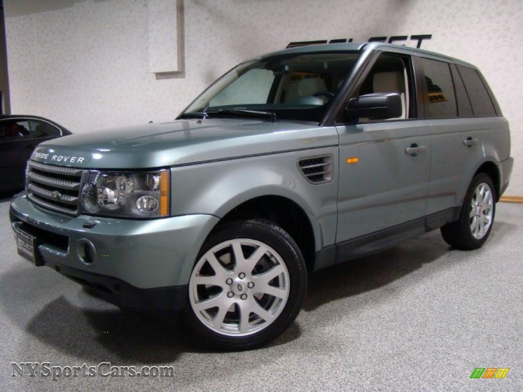 2007 land rover range rover sport hse in giverny green metallic 114024. Black Bedroom Furniture Sets. Home Design Ideas