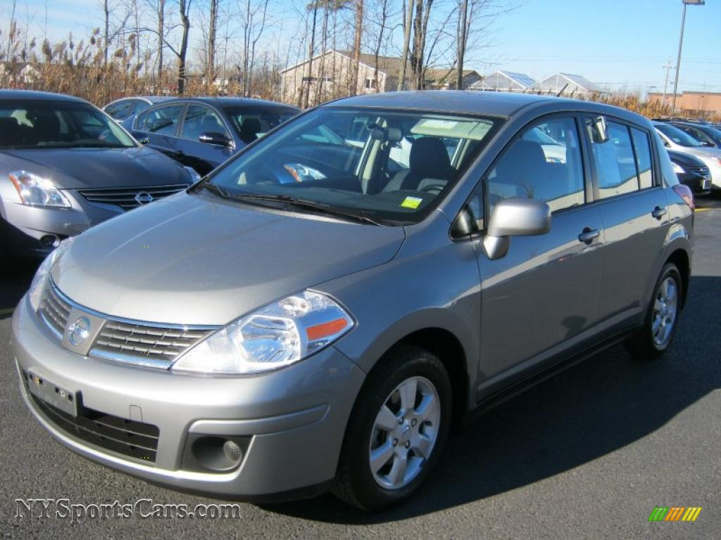 2007 nissan versa sl in magnetic grey metallic 453122 cars for sale in. Black Bedroom Furniture Sets. Home Design Ideas