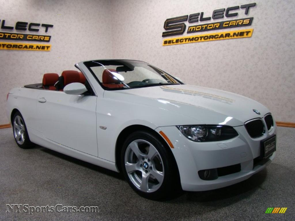 2008 Bmw 3 Series 328i Convertible In Alpine White Photo 3 154379 Cars