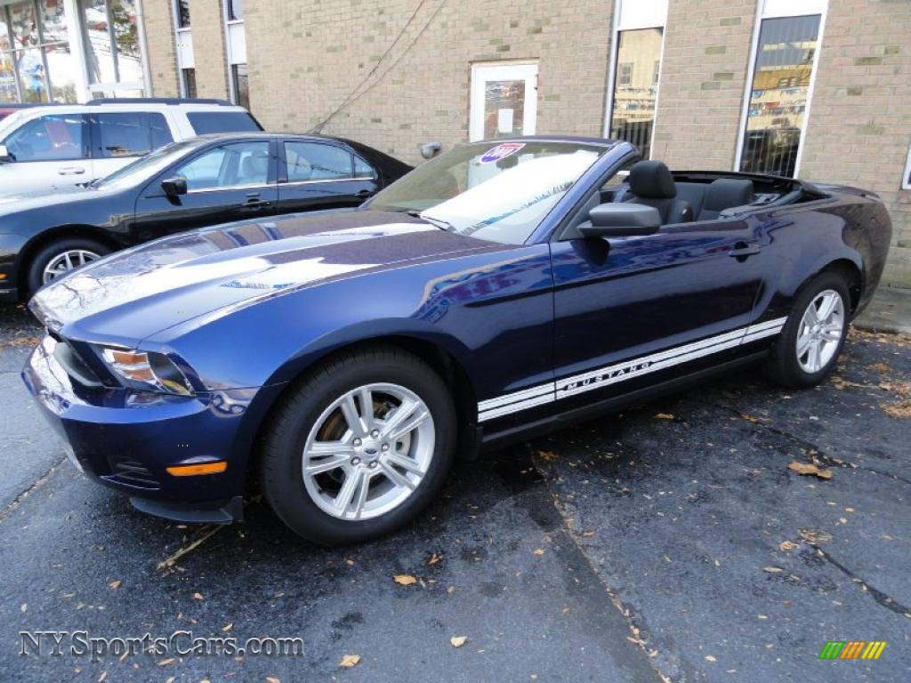 2010 Ford Mustang V6 Convertible In Kona Blue Metallic