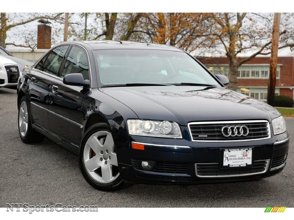 2005 audi a8 4 2 quattro in night blue pearl photo 7 003386 cars for. Black Bedroom Furniture Sets. Home Design Ideas