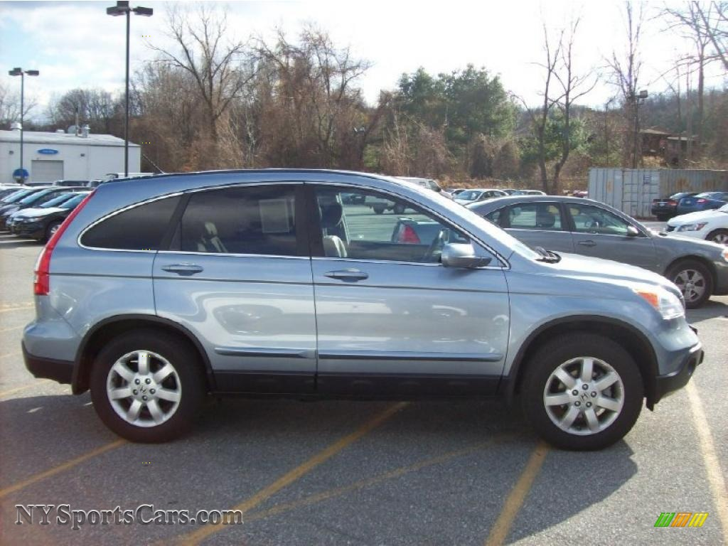 2008 Honda CR-V EX-L 4WD in Glacier Blue Metallic photo ...