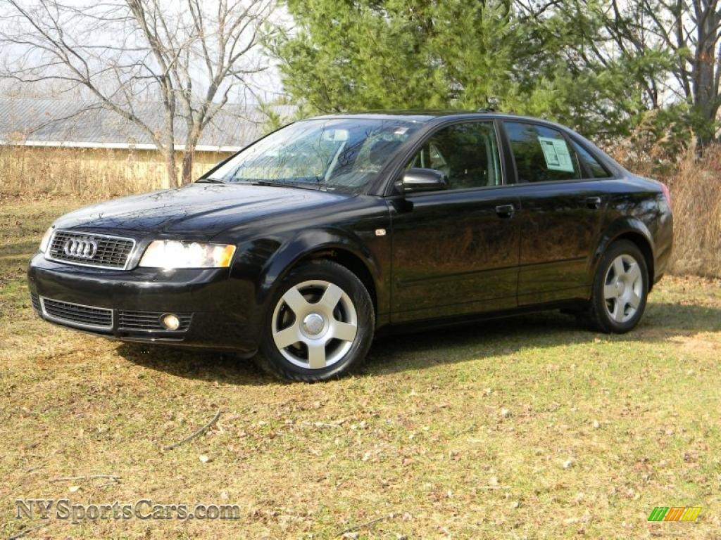 2004 audi a4 1.8t quattro sedan in brilliant black - 156831