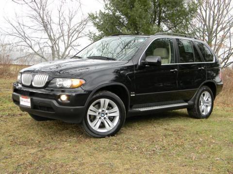 Bmw X5 Black 2006. Jet Black 2006 BMW X5 4.4i
