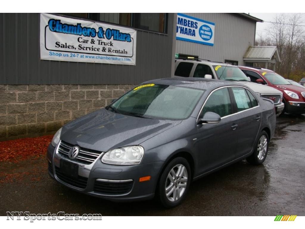 2007 Volkswagen Jetta Wolfsburg Edition Sedan In Platinum