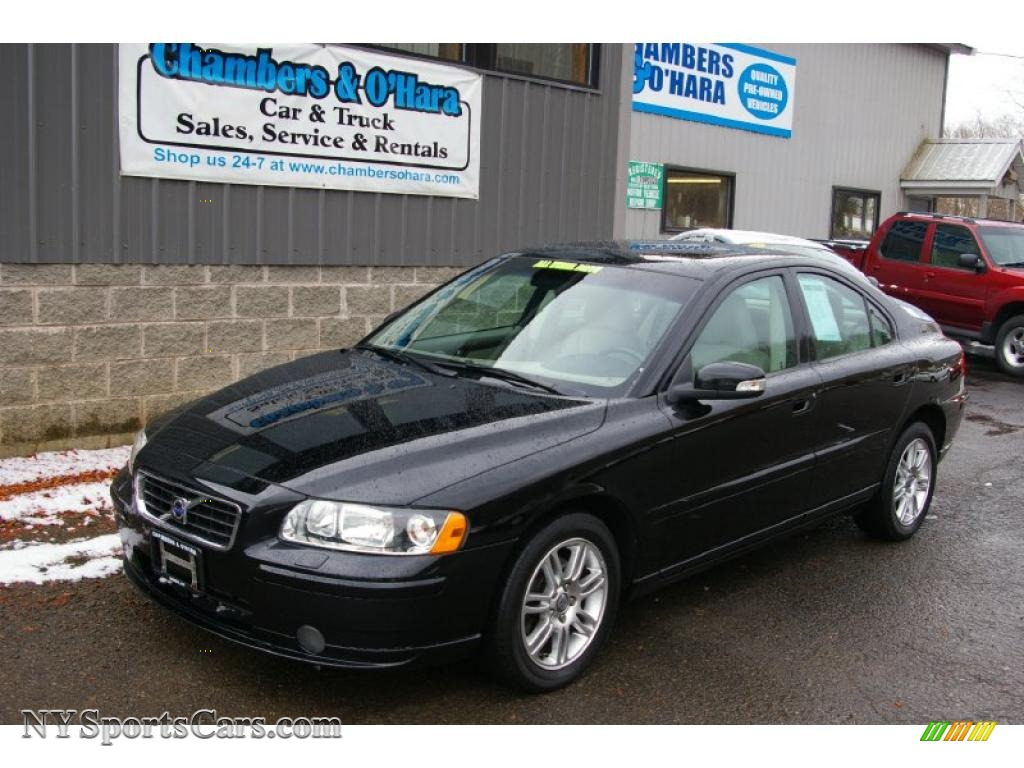 2008 volvo s60 2.5t awd in black stone - 692896 | nysportscars