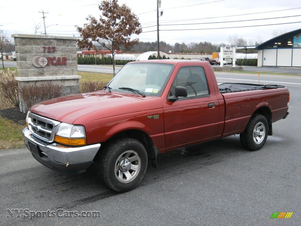 Toreador red metallic medium graphite ford ranger xlt regular cab