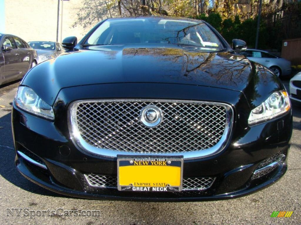 2011 jaguar xj xjl in ebony black photo 4 v07241 cars for sale in new york. Black Bedroom Furniture Sets. Home Design Ideas